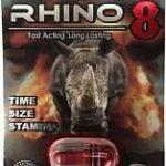 RHINO 8 8000 Male Sexual Performance Enhancement Pill 6 PK