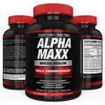 AlphaMAXX Male Enhancement Supplement – Ginseng, Muira Puama, Tribulus – 60 Herbal Pill – BioScience Nutrition