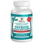 Activa Naturals Thyroid Support Health Supplement – 90 Vegetarian Capsules – Natural & Herbal Iodine from Kelp, Ashwagandha, Bladderwrack, Coleus Forskohlii & More Herbs