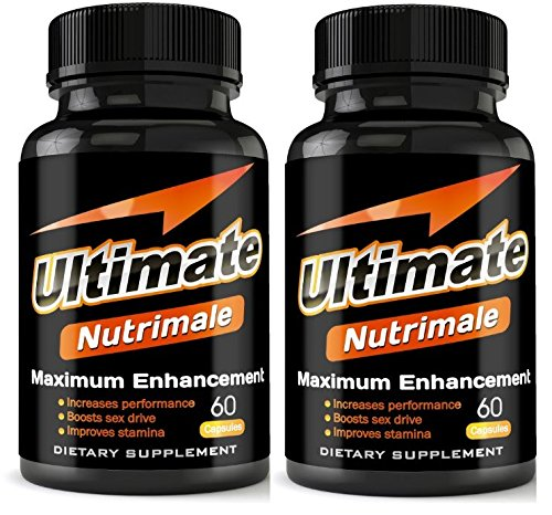Ultimate Nutrimale - 2 Month Supply - The Ultimate Male Enhancement Pills For Size, Stamina, Testosterone, Libido | Boost Sex Drive and Energy | Enlargement Pills, Erection Pills, Sex Pills