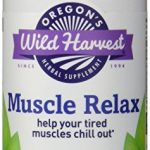Oregon's Wild Harvest Muscle Relax Organic Herbal Supplement, 90 Count