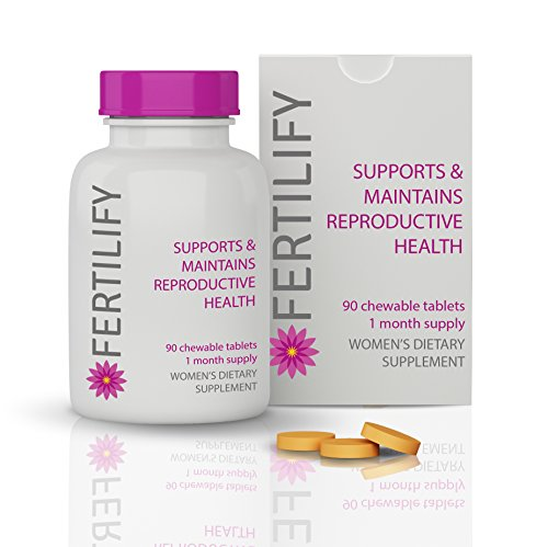 FERTILIFY - Sold in Fertility Clinics, Doctor Recommended, Chewable Fertility Supplement Pills for Women Looking to Get Pregnant Now or Maintain Their Fertility for Later in Life