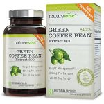 NatureWise Green Coffee Bean Extract with Antioxidants, All Natural Weight Loss Supplement, Helps Maintain Normal Blood Sugar Levels, Non-GMO, 800mg, 60 count