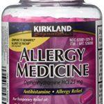 Diphenhydramine HCI 25 Mg – Kirkland Brand – Allergy Medicine and AntihistamineCompare to Active Ingredient of Benadryl® Allergy Generic – 600 Count