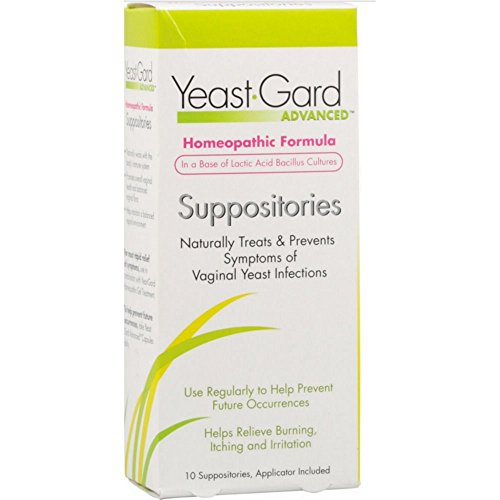 YeastGard Advanced Vaginal Yeast Infection Suppositories, 10-Count