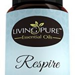 #1 Respiratory Essential Oil & Sinus Relief Blend – Supports Allergy Relief, Breathing, Congestion Relief, & Respiratory Function – 100% Organic Therapeutic & Aromatherapy Grade – 15ml