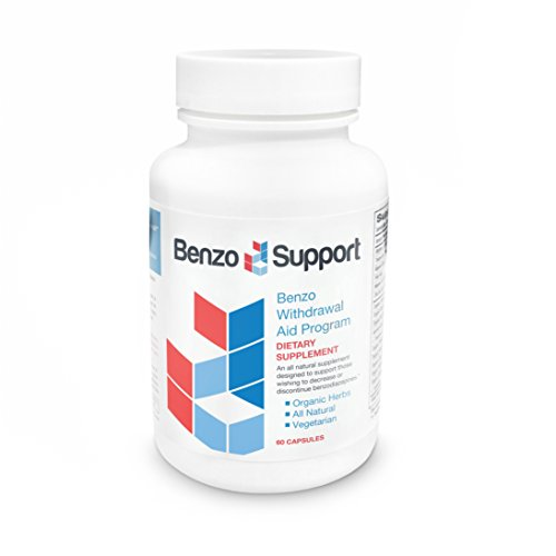 BenzoSupport - Benzo Withdrawal Aid Supplement to help reduce withdrawals related to Xanax, Valium, Alprazolam, Klonopin, etc