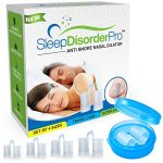 Sleep Disorder Pro- Snore Stopper Nasal Vents- Best Anti snoring device- Pack of 4 size- Sleep/Snoring Aids that help you Breathe Right -Provides comfort & relief for your Snoring & Nasal Congestion.