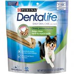 Purina DentaLife Daily Oral Care Small/Medium Adult Dog Treats – (1)  28.5 oz., 40 ct. Pouch