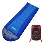 SEMOO Comfort Lightweight Portable, Easy to Compress, Envelope Sleeping Bags with Compression Bag