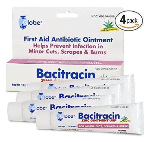 Bacitracin Zinc Ointment 1 Oz / 28 G (Pack of 4)