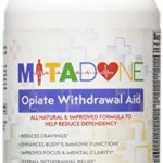 Mitadone Opiate Withdrawal Aid Supplement for Painkillers & Other Opioids, 120 Count