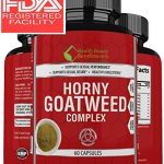 * EXTREME HORNY GOAT WEED BLEND * Top Rated SEXUAL PERFORMANCE For Men And Women – Proven Blend With L Arginine HCL – Maca Root – Panax Ginseng – Saw Palmetto – Tongkat Ali Root