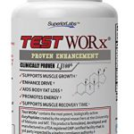 Superior Labs Test Worx Testosterone Booster Supplement (60 Capsules)