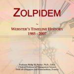 Zolpidem: Webster's Timeline History, 1985 – 2007