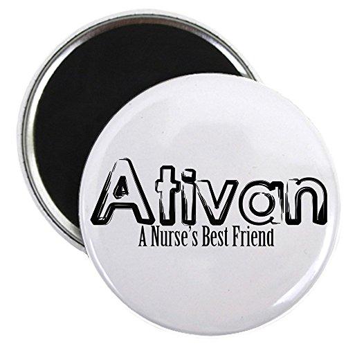 CafePress - Ativan- A Nurse's BFF - 2.25