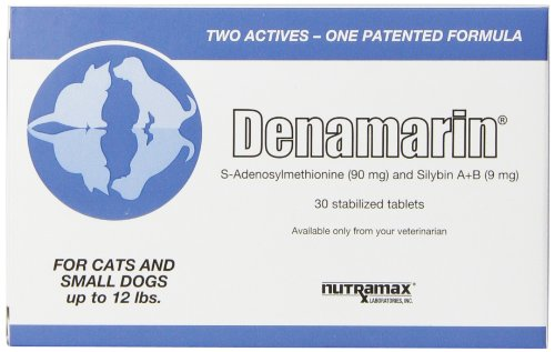 Nutramax Denamarin Tablets, Small Dog/Cat, 30 Count