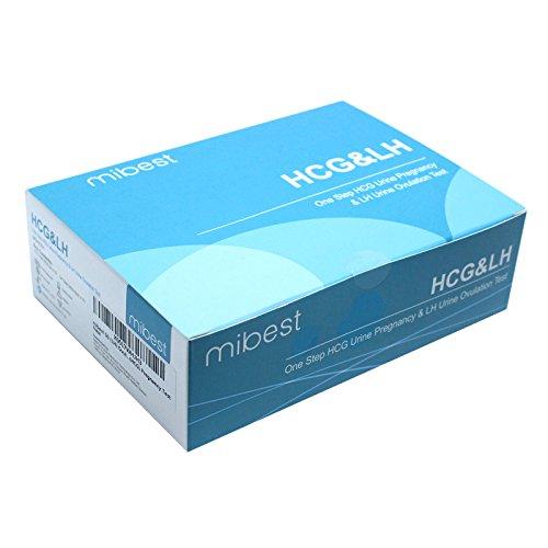 Mibest 50 (LH) Ovulation Test & 10 (HCG) Pregnancy Test Strips
