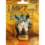 MV7 GOLD 4500mg Natural Sexual Performance Enhancement Stamina Men 5 Pills Packs by MV7