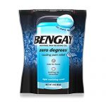 Bengay Zero Degrees, Menthol Pain Relieving Gel, Vanishing Scent, 3 Ounce (Packaging may vary)