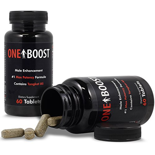 Testosterone Booster For Men & Male Enhancement Pills - Active Ingredient In One Boost Clinically Proven To Naturally Support Low T Quickly - Potent Aphrodisiac Rescue
