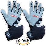 Mountain Biking Gloves Bundle – Great for Cycling, Performance Specialized Bike for Women and Men (2 Pack – Large)