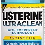 Listerine Ultraclean Arctic Mint Antiseptic Mouthwash, 3.2 Oz