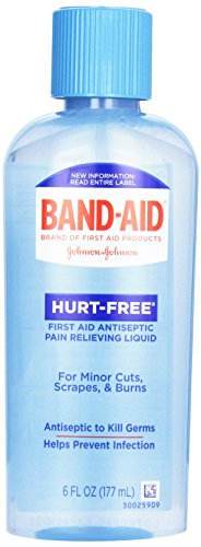 Band-Aid Hurt Free Antiseptic Wash, 6 oz