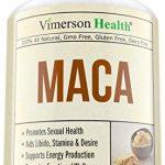MACA Root Diet Supplement – Energy Production & Emotional Wellness. Balance Hormones, Support Reproductive Health Men, Women & Seniors, Aid Libido, Stamina & Desire – Vegan, non-GMO, 100% All Natural