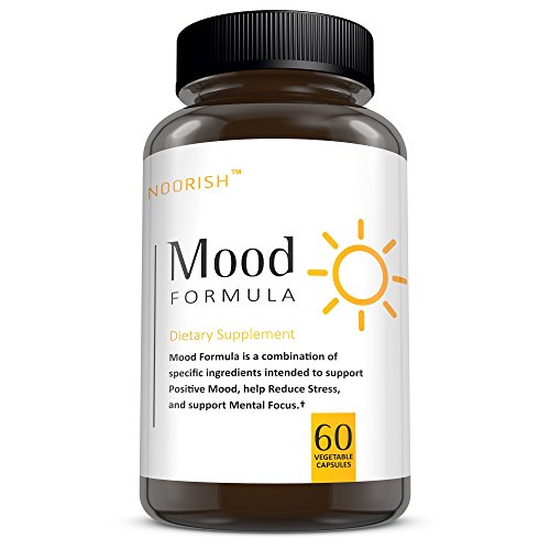 Mood Stabilizer & Mood Support Supplement with Ashwagandha, GABA, 5-HTP, Chamomile, and DMAE. Anti-Anxiety and Anti-Stress