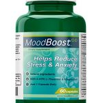Mood Boost – Natural Supplement for Stress and Anxiety Relief – With 5-HTP, Magnesium, Passion Flower, L-Tyrosine and L-Theanine – 60 Vegetarian Capsules