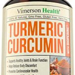 Turmeric Curcumin with Bioperine Joint Pain Relief – Anti-Inflammatory, Antioxidant Supplement with 10mg of Black Pepper for Better Absorption. Best 100% All Natural Non-Gmo Made in USA