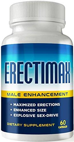 Erectimax - MAX Erection Pills - Male Enhancements Pills - Testosterone Booster- Increase Size, Stamina, Sex-Drive - Enlargement Pills for Men - Libido Booster - Male Performance Pills 2.0