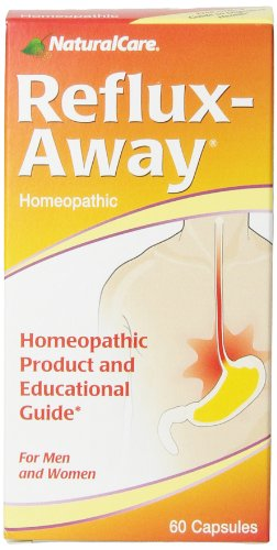 NaturalCare Homeopathic Reflux-Away Capsules, 60-Count