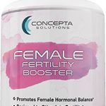 Concepta Female Fertility Booster (45 Day Supply) Support for Egg Quality, Hormonal Balance, Women's Reproductive Health, Increase Libido – 90 Vegetarian Pills 1570mg