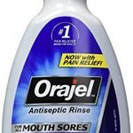 Orajel Antiseptic Mouth Sore Rinse, 16 Fluid Ounce by Orajel