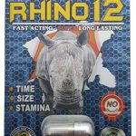 Premium Rhino 12 Sex Pill – Titanium 9000 All Natural Male Enhancement Formula – Time – Size – Stamina – Fast Acting and Longer Lasting! (10 Pack)