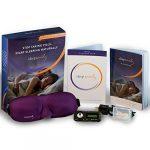 Sleep Easily Insomnia Treatment – Sleep Recordings on a Mini Audio Player, Eye Mask and Ear Plugs – A Natural Sleep Aid for Insomnia Relief