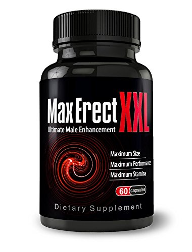 MaxErect XXL -The Ultimate Male Enhancement Pills For Increased Performance, Size, Stamina - Libido And Testosterone Booster, Hardness Pills, Natural Enhancement, Male Pills