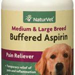 NaturVet Buffered Aspirin Medium Large Breed (75 count)