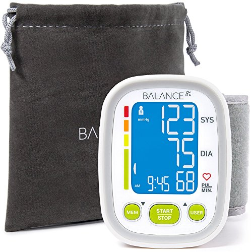 Wrist Blood Pressure Cuff Monitor by Balance,