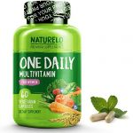 NATURELO One Daily Multivitamin for Women – Best for Hair, Skin, Nails – Natural Energy Support – Whole Food Supplement – Non-GMO – No Soy – Gluten Free – 60 Capsules   2 Month Supply