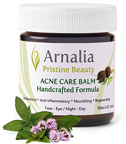 ARNALIA Acne Care Treatment - Rosacea Rapid Clear Balancing Cosmetic Balm - Organic Skin Care - 100% Natural Recipe, Hand-Picked, Wild-Grown Ingredients - Scar Removal Cream, Get Rid of Acne Sc (20ml)