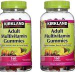 Kirkland Signature Adult Multi Gummies – 320 ct – 2 pk