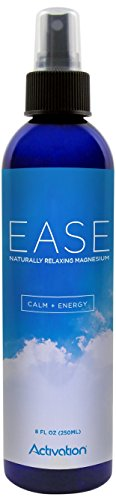 Activation Products EASE Magnesium Spray for Magnesium Deficiency, Joint and Muscle Pain, Leg Cramps, Eases Restless Legs, 8 ounces