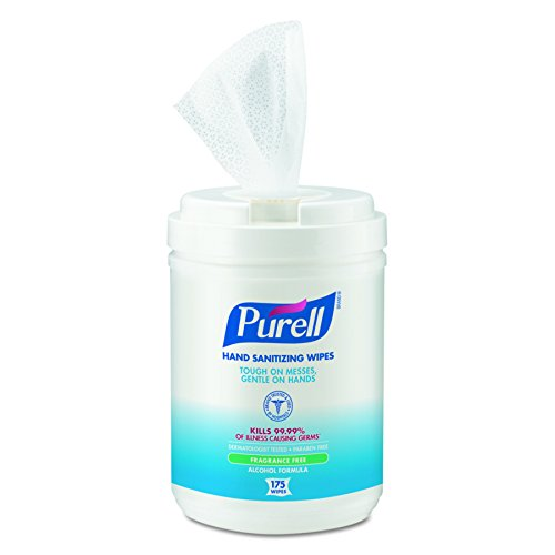 PURELL 9031-06 Antimicrobial Sanitizing Wipes,  (175 Count) - 6 Pack