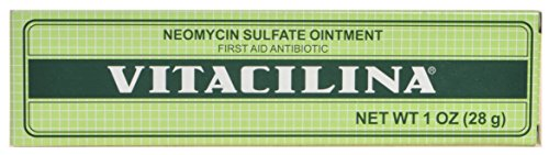 MAGICAL VITACILINA FIRST AID ANTIBIOTIC OINTMENT MADE WITH NEOMYCIN SULFATE - CURES WITHOUT STING: CUTS, BRUISES, CHAP LIPS