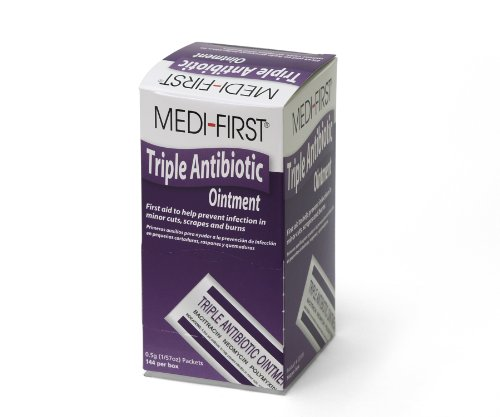 Medique Products 22335 Triple Antibiotic Ointment, .5 Gram, 144 Per Box