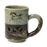 SOMA-YAKI(ware) MATSUNAGA-KAMA(kiln), The double layer mug