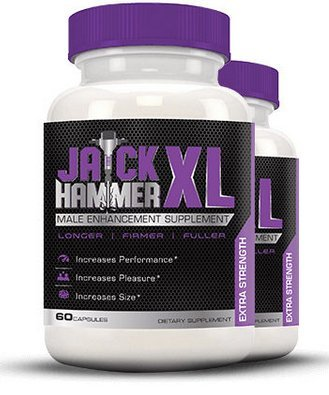 Jack Hammer XL - Male Enhancing Pills - Last Longer, Size Gain, Erection Quality | With Herbs to Boost Testosterone Levels |**Best Seller**